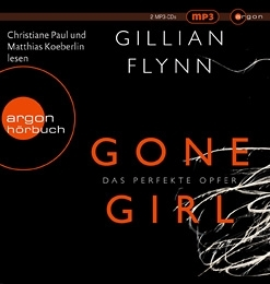 Gillian Flynn - Gone Girl Hörbuch Cover © argon Verlag