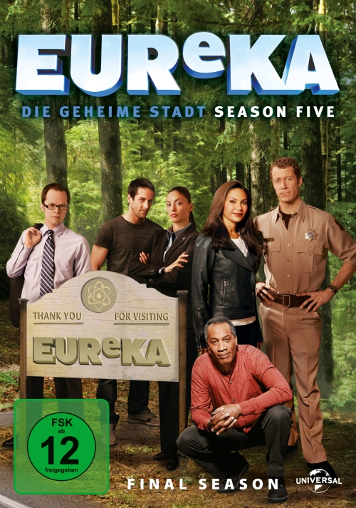 EUReKA – Die geheime Stadt – Staffel 5 (Serie, 5DVD)
