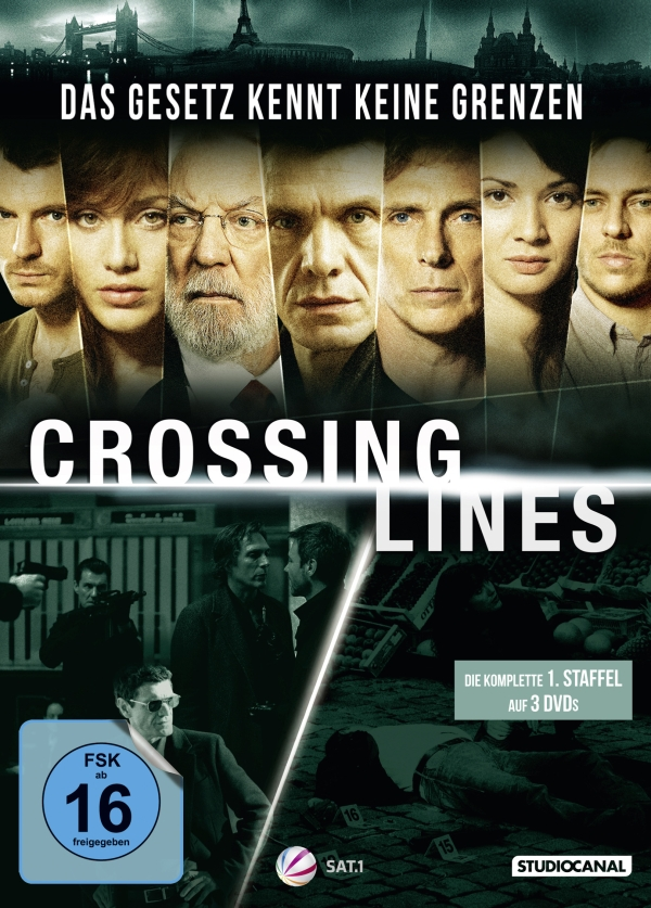 Crossing Lines – Staffel 1 (TV-Serie, 3DVD)