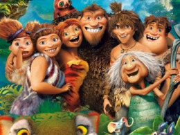 Die Croods DVD Cover © Dreamworks/20th Century Fox Home Entertainment