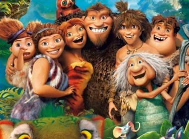 Die Croods DVD Cover © Dreamworks/20th Century Fox Home Entertainment