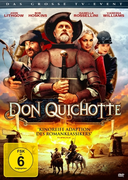 Don Quichotte (Spielfilm, DVD/Blu-Ray)