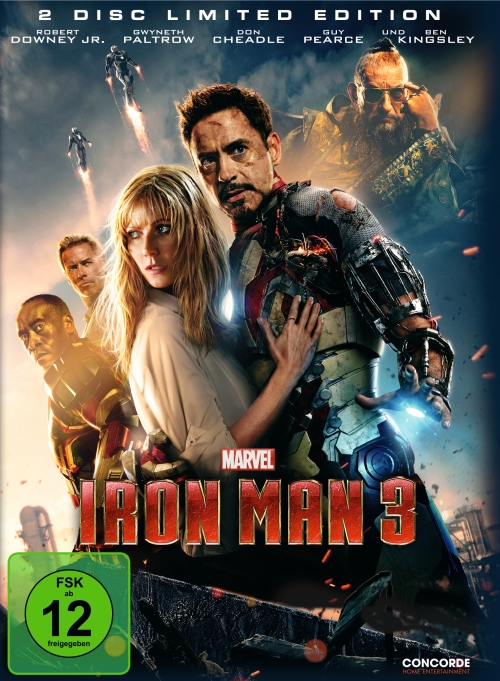 Iron Man 3 (Spielfilm, DVD/Blu-Ray)