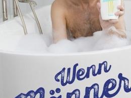 Oliver Uschmann & Sylvia Witt - Wenn Männer baden gehen (Buch) Cover © Lappan Verlag