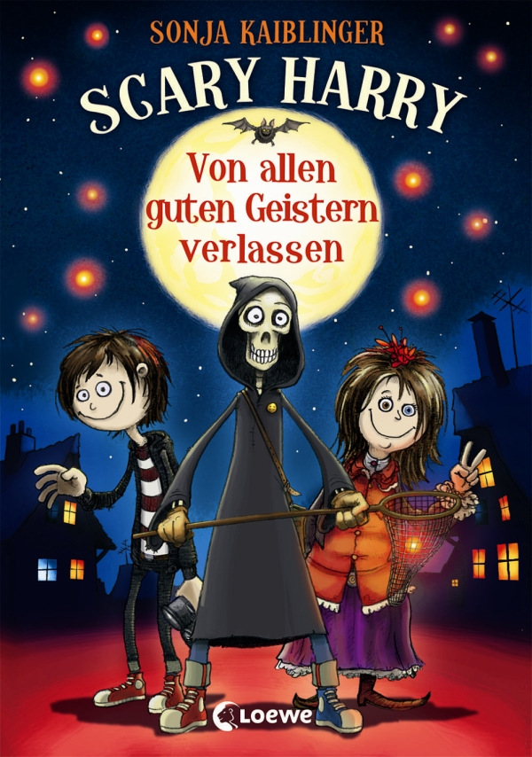 Sonja Kaiblinger – Scary Harry – Von allen guten Geistern verlassen (Buch, mit Illustrationen von Fréderic Bertrand)