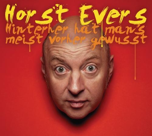 Horst Evers – Hinterher hat man's meist vorher gewusst (Liveprogramm, CD)