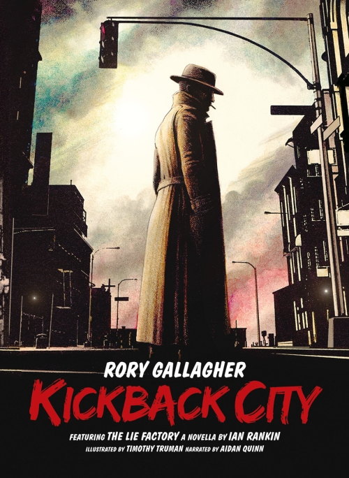 Rory Gallagher – Kickback City (Buch, Hörbuch, 2 Audio-CDs)