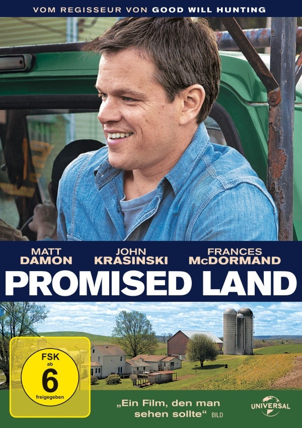 Promised Land (Spielfilm, DVD/Blu-Ray)