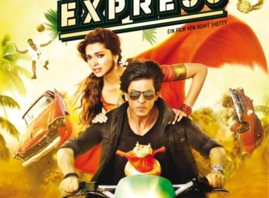 Chennai Express DVD Cover © Rapid Eye Movies