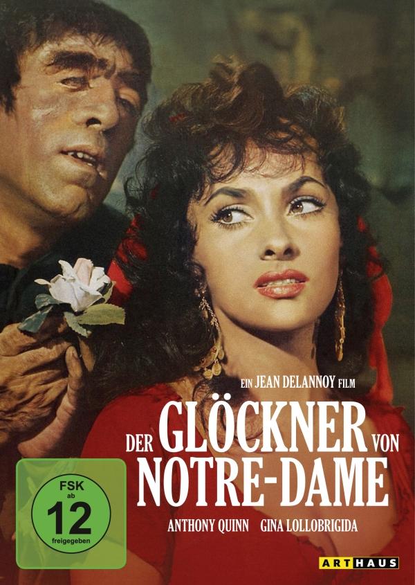 Der Glöckner von Notre-Dame (1956; Spielfilm, DVD)