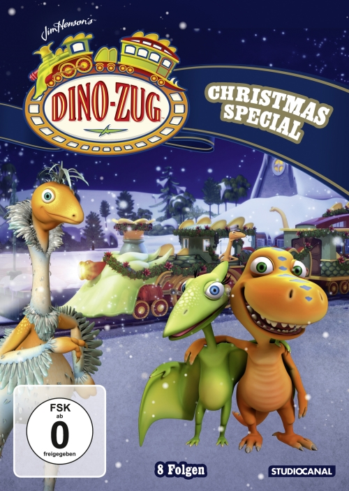 Dino-Zug – Christmas Special (Animationsserie, DVD)