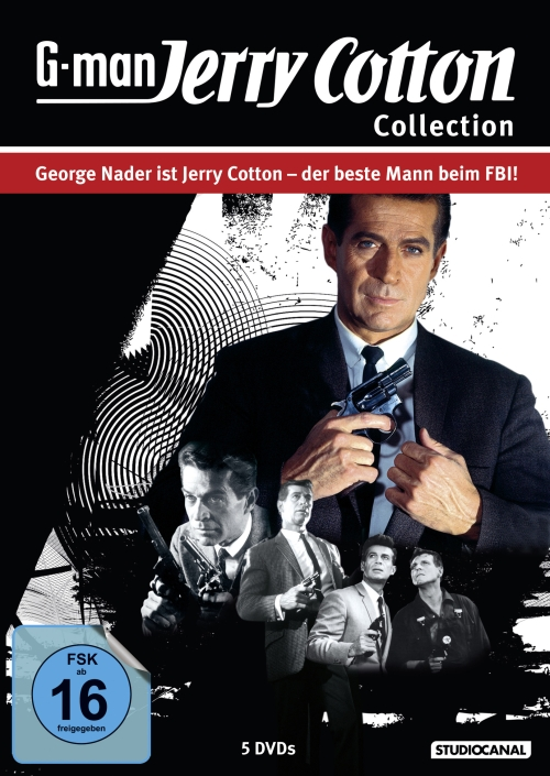 Jerry Cotton Collection (Spielfilme, 5DVD)