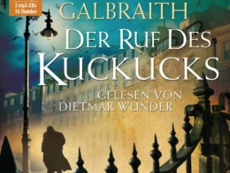Robert Galbraith - Der Ruf des Kuckucks (Hörbuch) Cover © Random House Audio