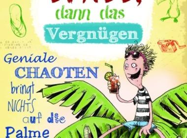 Jakob M. Leonhardt - Erst der Spaß, dann das Vergnügen (Buch) Cover © Arena Verlag