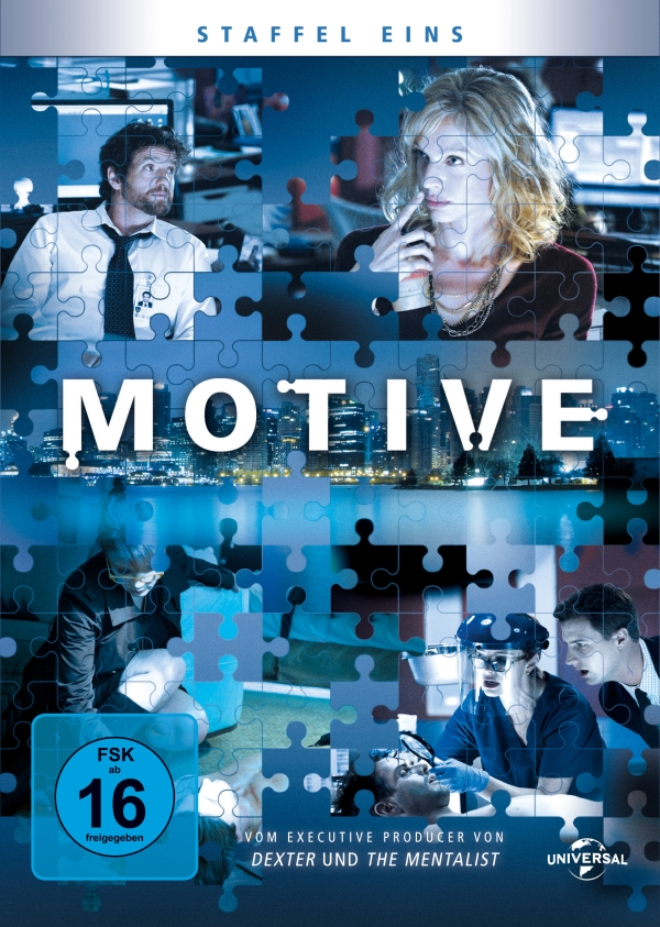 Motive – Staffel 1 (TV-Serie, 4DVD)