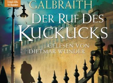 Robert Galbraith - Der Ruf des Kuckucks (Hörbuch) Cover © Random House Audio
