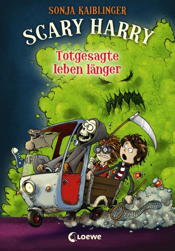 Sonja Kaiblinger – Scary Harry – Totgesagte leben länger (Buch, mit Illustrationen von Fréderic Bertrand)
