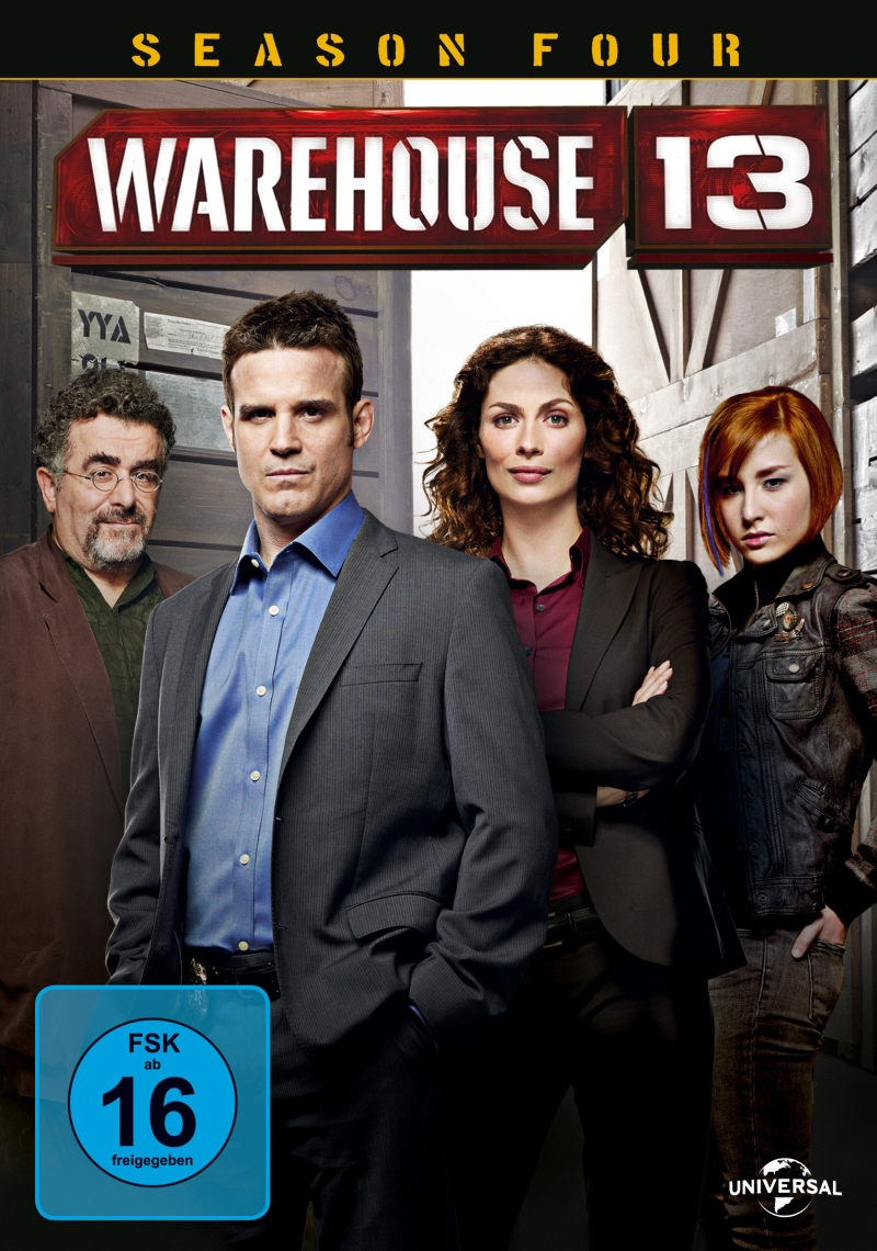 Warehouse 13 – Staffel 4 (5DVD)