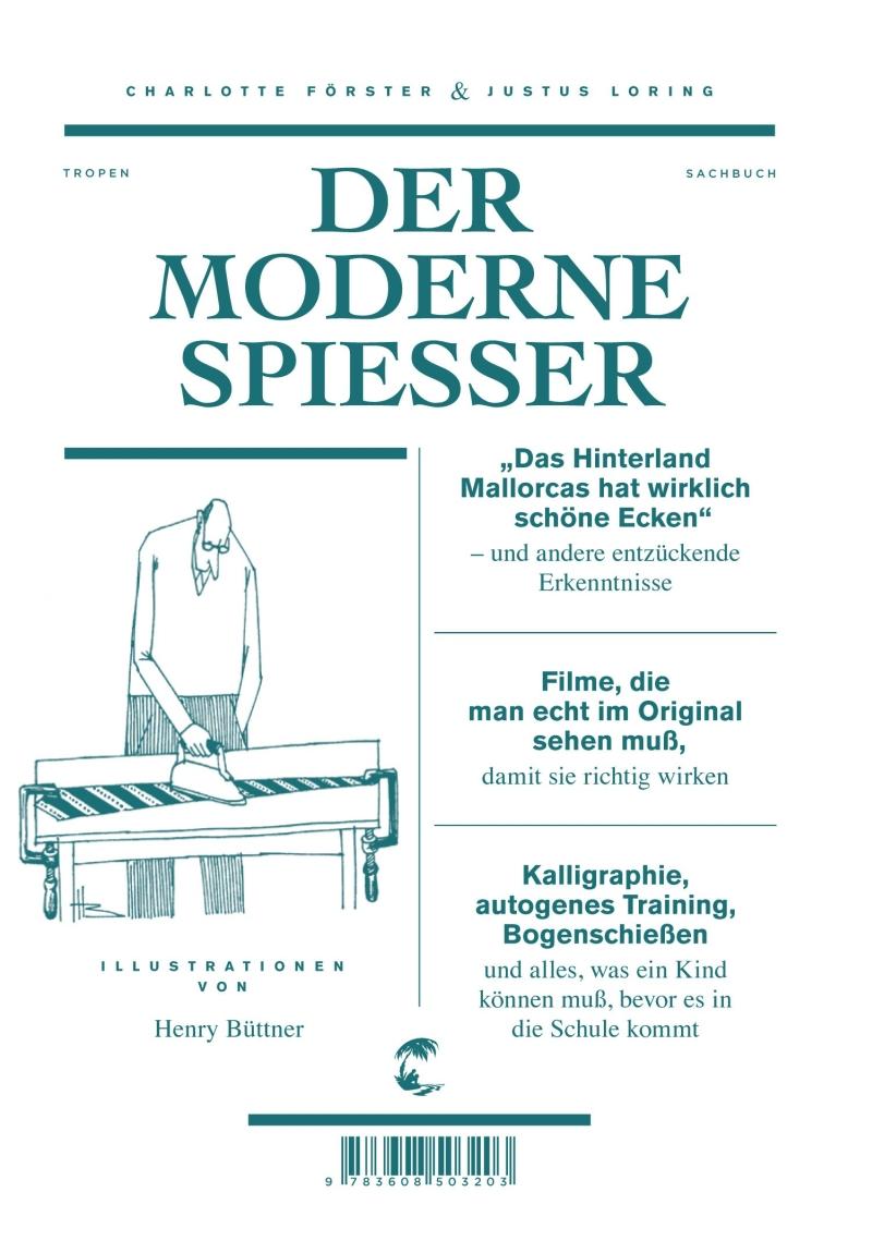 Charlotte Förster & Justus Loring – Der moderne Spießer (Buch)