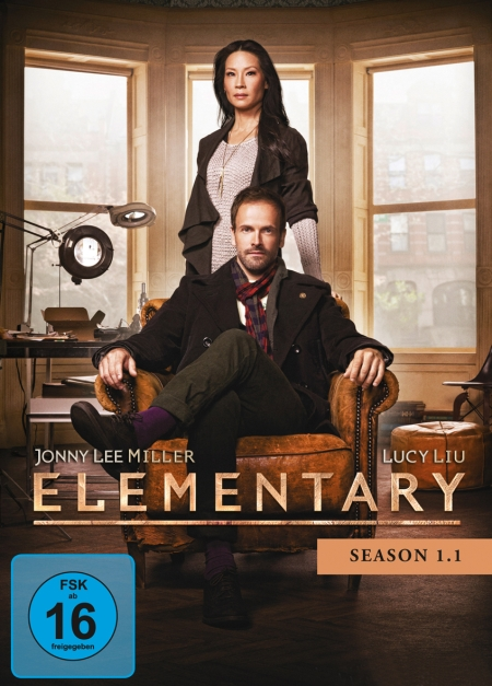 Elementary (Serie, Staffel 1.1 & Staffel 1.2, DVD)