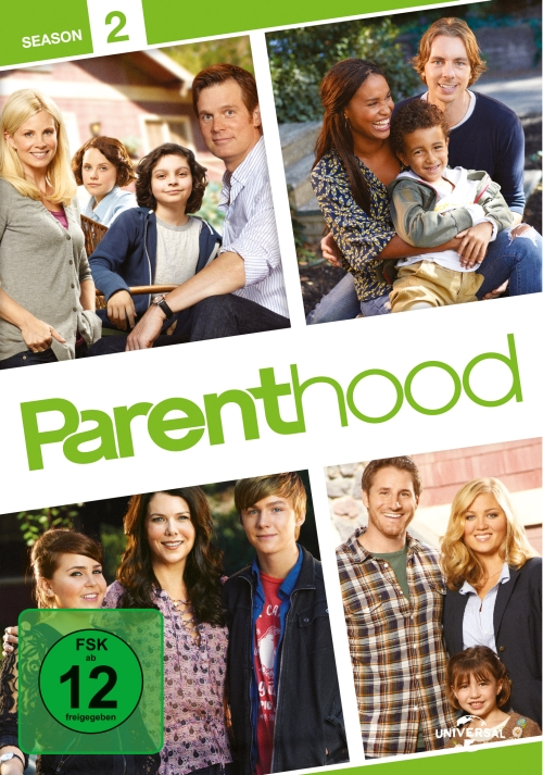 Parenthood – Staffel 2 (TV-Serie, 6DVD)