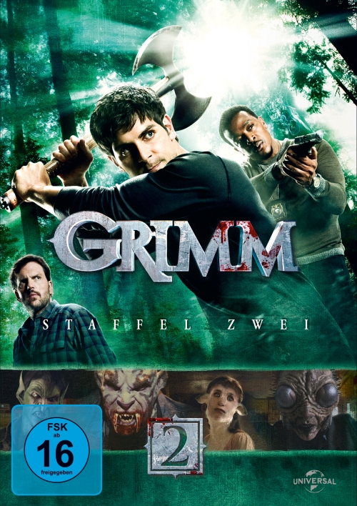 Grimm – Staffel 2 (TV-Serie, DVD/Blu-Ray)