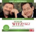 Eckart von Hirschhausen mit Jürgen von der Lippe - Ist das ein Witz? Vol. 2 (Live-CD) Cover © der Hörverlag