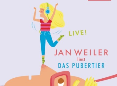 Jan Weiler - Das Pubertier LIVE! (Cover © der Hörverlag)