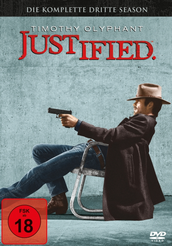 Justified – Staffel 3 (Serie, 3DVD)
