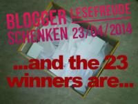 Die Gewinner unseres Lesefreude-Gewinnspiels 2014