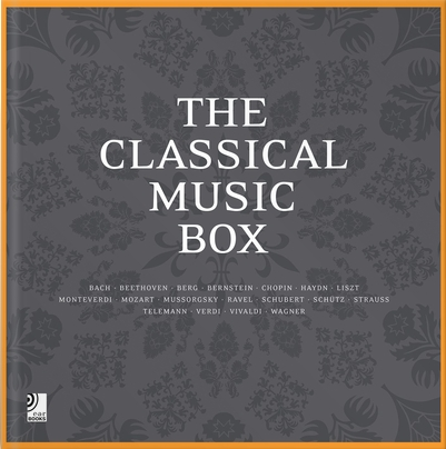 The Classical Music Box (earBOOK, Buch mit 8 CDs), Text: Hartmut Möller