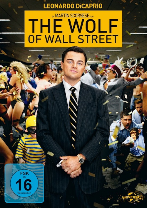 The Wolf of Wall Street (Film, DVD)