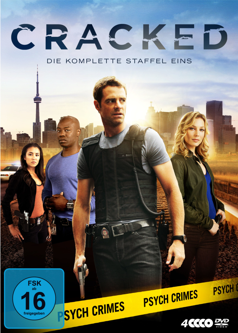 Cracked – Staffel 1 (Serie, 4DVD)