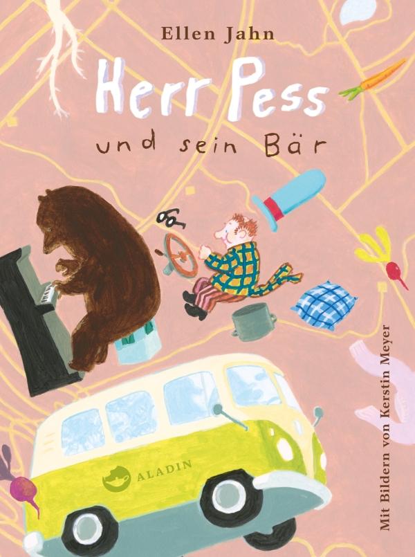 Ellen Jahn – Herr Pess und sein Bär (Buch)