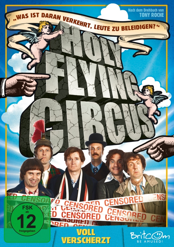 Holy Flying Circus – Voll verscherzt  (Spielfilm, DVD/Blu-Ray)