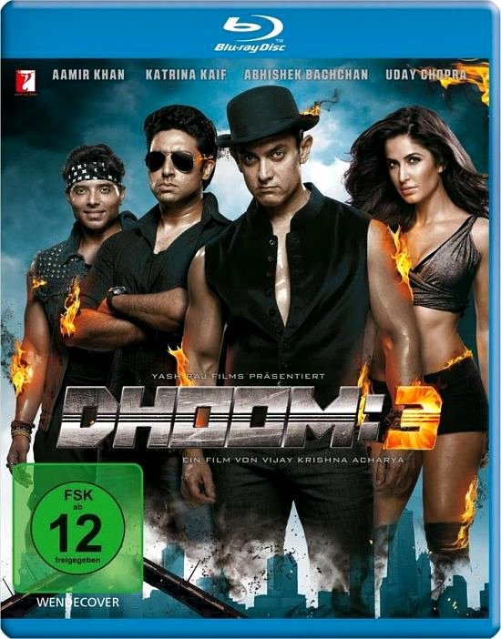 DHOOM: 3 (Spielfilm, DVD/Blu-Ray)