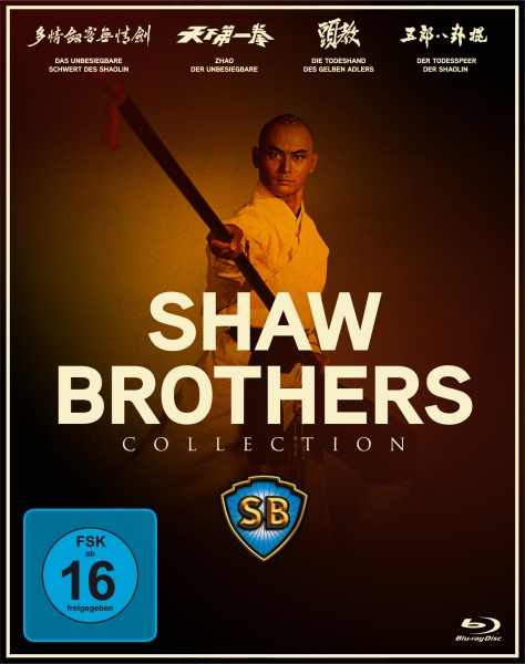 Shaw Brothers Collection (Spielfilm, DVD/Blu-Ray)