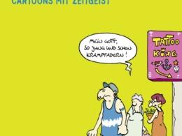 Kleinert & Schwalm - Coole Bilder - Cartoons mit Zeitgeist (Cover © Lappan Verlag)