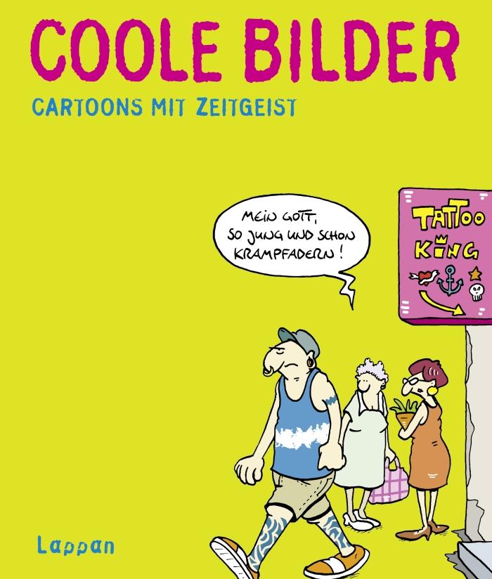 Wolfgang Kleinert & Dieter Schwalm – Coole Bilder – Cartoons mit Zeitgeist (Buch)
