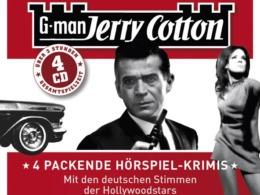 Jerry Cotton - 4 packende Hörspiel-Krimis Cover © Lübbe Audio/floff