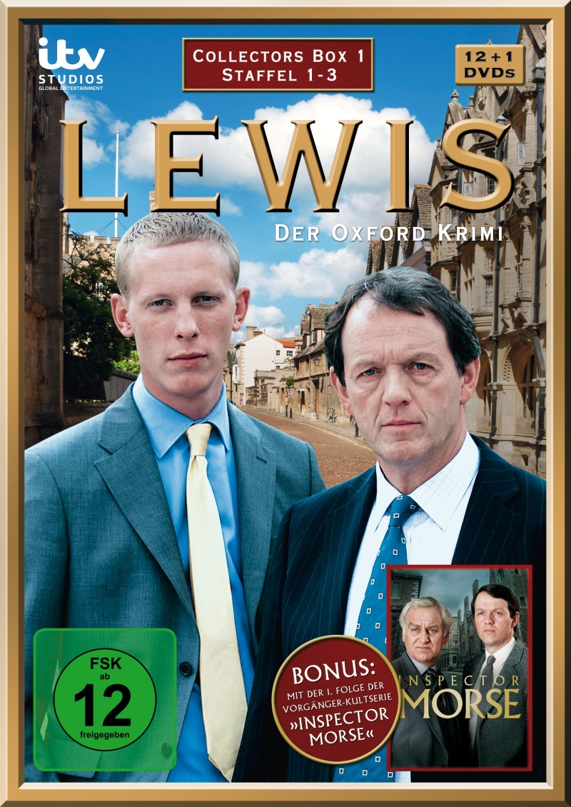Lewis – Der Oxford-Krimi – Collector's Box 1 (Staffel 1-3, 13-DVD-Box)
