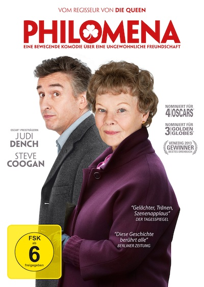 Philomena (Film, DVD/Blu-Ray)