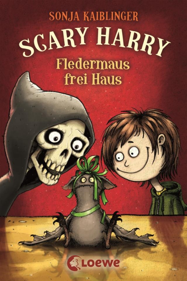 Sonja Kaiblinger – Scary Harry #0.5 – Fledermaus frei Haus (Buch, mit Illustrationen von Fréderic Bertrand)