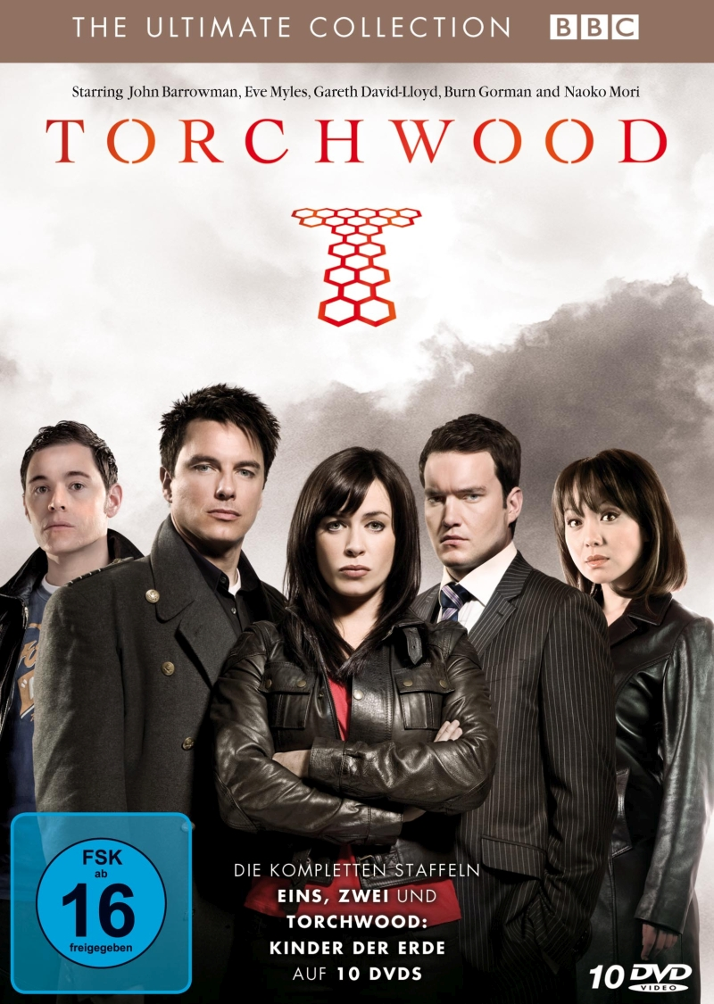 "Torchwood – The Ultimate Collection – Staffeln 1, 2 und ""Kinder der Erde""/3 (TV-Serie, 10-DVD-Box)"