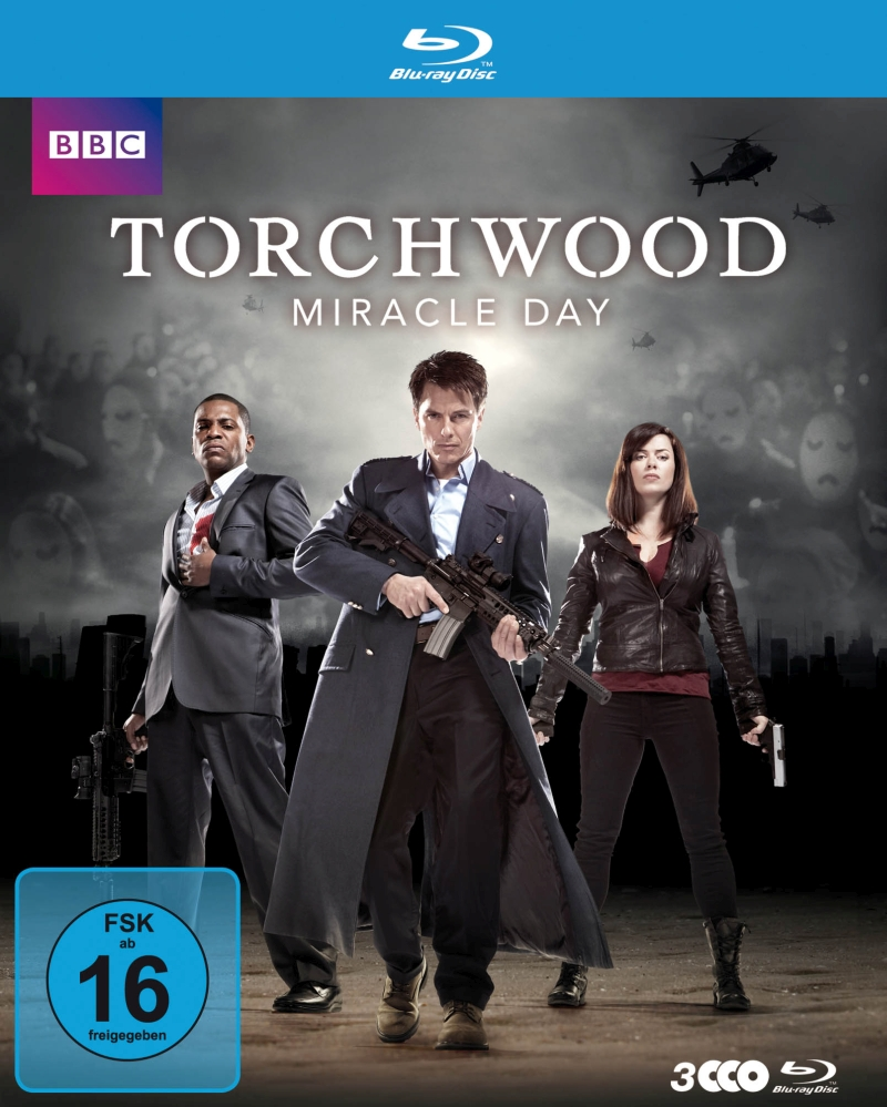 Torchwood – Miracle Day/Staffel 4 (TV-Serie, DVD/Blu-Ray)