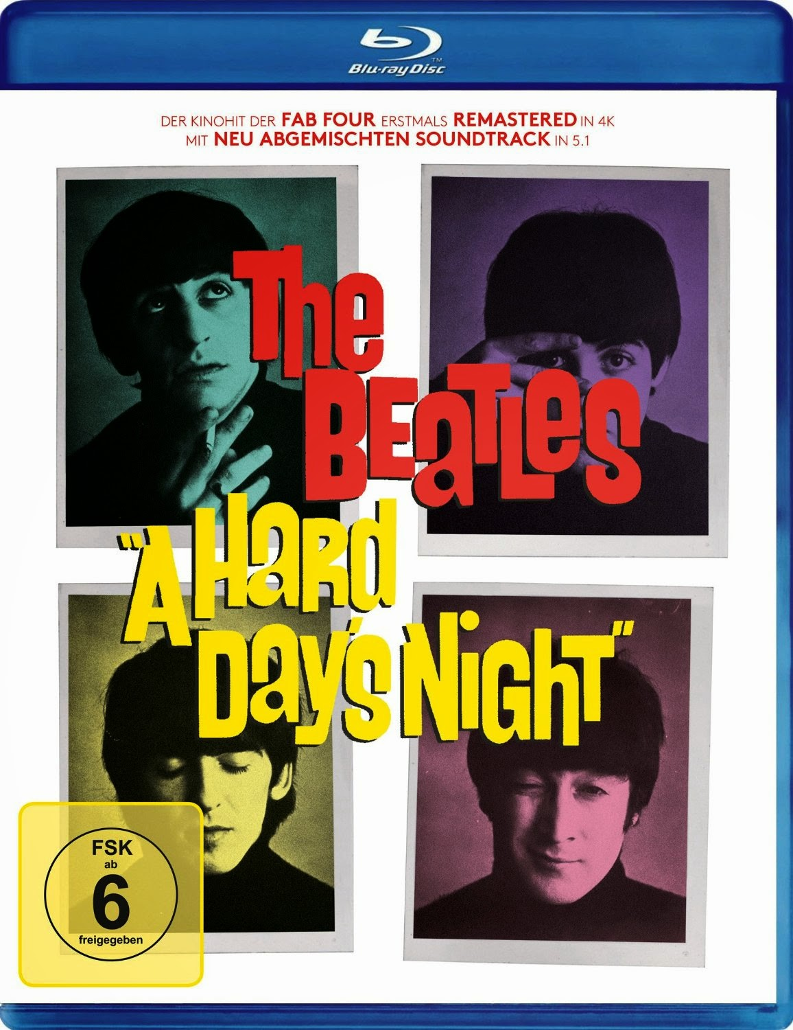 A Hard Day's Night (Spielfilm, Blu-Ray)