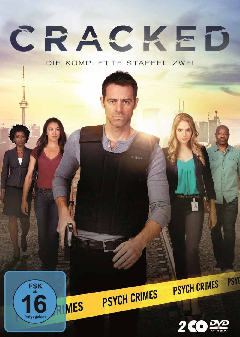 Cracked – Staffel 2 (Serie, 2DVD)