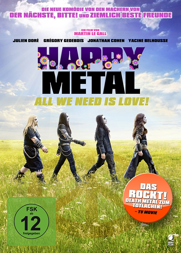 Happy Metal – All We Need Is Love (Spielfilm, DVD/Blu-Ray)