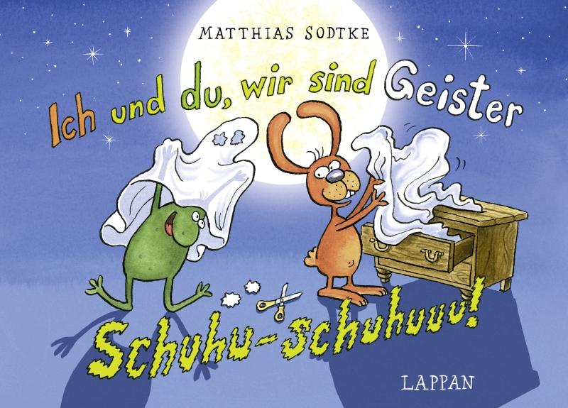 Matthias Sodtke – Nulli & Priesemut #19: Ich und du, wir sind Geister – Schuhu-schuhuuu! (Buch)