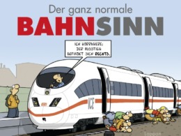 Miguel Fernandez - Der ganz normale Bahnsinn (Cover © Lappan Verlag)